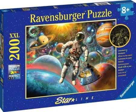 Ravensburger sestavljanka Pogled v vesolje, 200 delov, Panorama