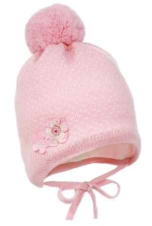 Pupill dekliška kapa Emilia, 38 - 40, roza