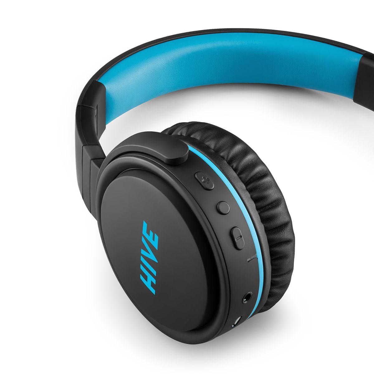 Sluchátka Niceboy HIVE XL Bluetooth technologie maxxbass
