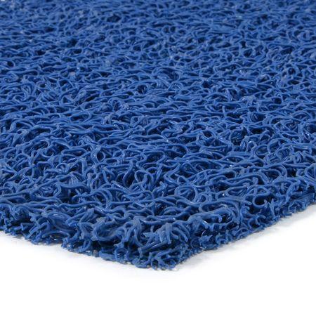 FLOMAT Modrá vinylová protiskluzová rohož Spaghetti - 1200 x 120 x 1,2 cm