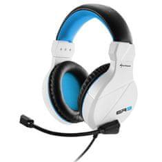 Sharkoon slušalice Stereo s Mic Rush ER3 White, bijele