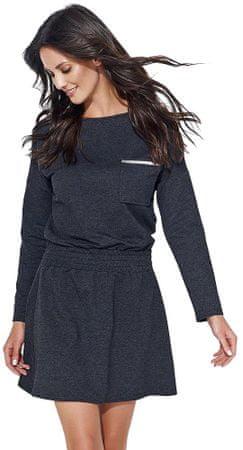 Numinou dámské šaty 40 tmavě šedá