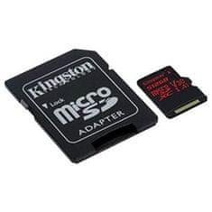 Kingston Kingston spominska kartica SDXC Canvas micro 512GB, 100MB/80MB/s, UHS-I Speed Class 3 (U3)