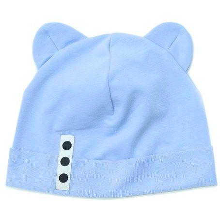 Lamama chlapecká čepice 40 - 42 světle modrá