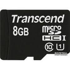 Transcend Transcend spominska kartica SDHC micro 8GB, 95/45MB/s, C10, UHS-I Speed Class 1 (U1)