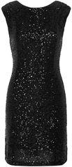 Vero Moda Dámske šaty Sparkly Sl Short Dress Black