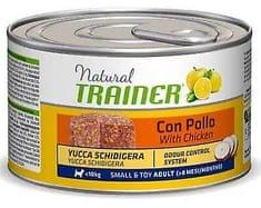 TRAINER Konzerva TRAINER Natural Small & Toy Ad. Kuře a rýže 150g