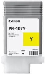 Canon PFI-107Y, žlutá (6708B001)