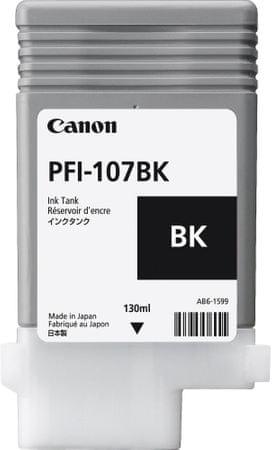 Canon tusz PFI-107BK, czarny (6705B001)
