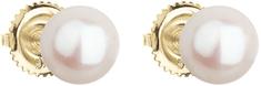 Evolution Group Złoto Kolczykisztyfty z oryginalnymi perłami Pavona 921004.1 żółte złoto 585/1000
