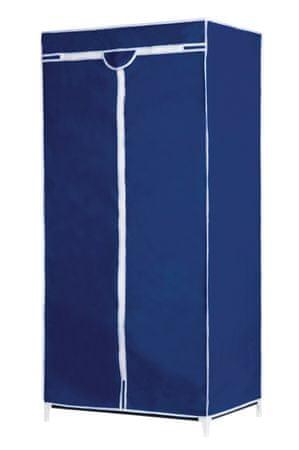 TimeLife Textil/fém ruhatároló kék