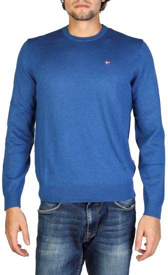 Napapijri pánský svetr M modrá