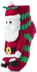 Attractive detské ponožky so Santa Clausom