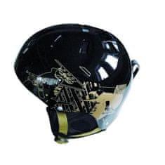Spartan smučarska čelada Snow, črna-rjava, M