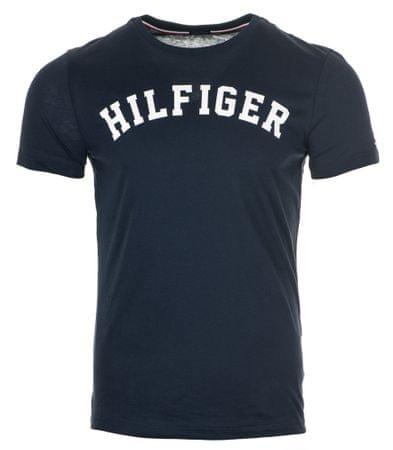 Tommy Hilfiger pánské tričko XL tmavo modrá
