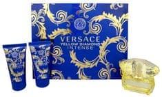 Versace Yellow Diamond Intense woda perfumowana 50 ml + żel pod prysznic 50 ml + mleczko do ciała 50 ml