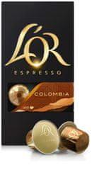 L'Or Colombia - 100 hliníkových kapsúl kompatibilných s kávovarmi Nespresso
