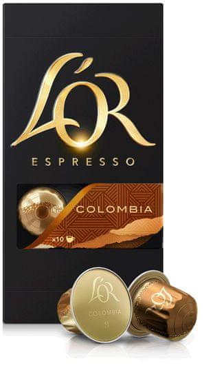 L'Or Espresso Colombia 100 hliníkových kapslí kompatibilních s kávovary Nespresso®*