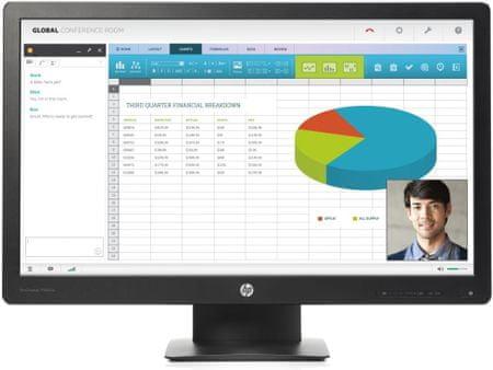 "HP monitor LCD 24"" ProDisplay P240va (N3H14AA)"