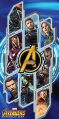Jerry Fabrics ręcznik kąpielowy Avengers Infinity War