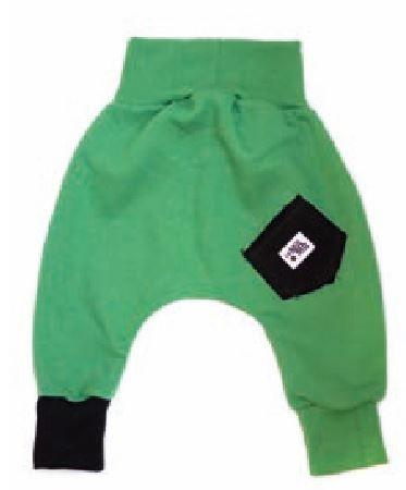 Lamama hlače za dječake, 92, zelene