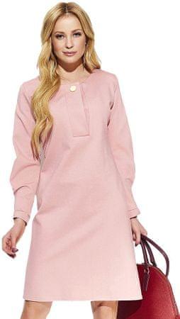 Makadamia dámské šaty 44 ružová