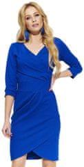 Makadamia ženska obleka, 36, modra - Odprta embalaža