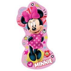 Jerry Fabrics Dekoratív mikroplüss párna Minnie rózsaszín