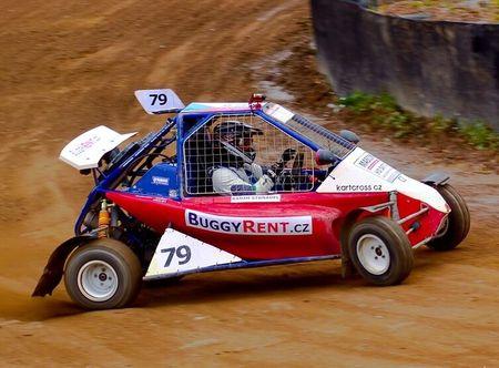 Allegria jízda v závodní Buggy - 10 kol Sedlčany