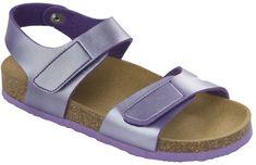 Scholl Dětské sandále Dinder Kid Bioprint Lilac F265691033