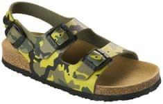 Scholl Dětské sandále Air Bag B/S Kid Bioprint Multi Green F265741221