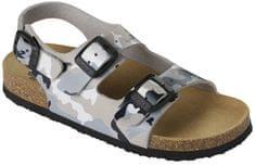 Scholl Dětské sandále Air Bag B/S Kid Bioprint Multi Grey F265741865