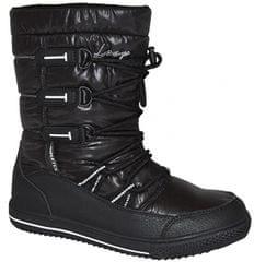 Loap Dámske zimné topánky Joss Black/Bl De Blanc SBL1745-V11A