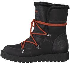 de52bbc6d Oliver Dámske členkové topánky Black 5-5-26459-31-001