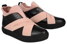 Fornarina Dámske členkové topánky Yuma - Black/Nude Nappa/Lycra Wo`s Shoe PI18YM1063CC00