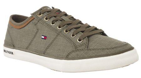 Tommy Hilfiger Férfi sportcipőCore Material Mix Sneaker FM0FM01332-011 (méret 45)