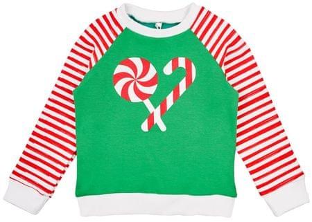 Garnamama otroška jopica Christmas, 98, večbarvna