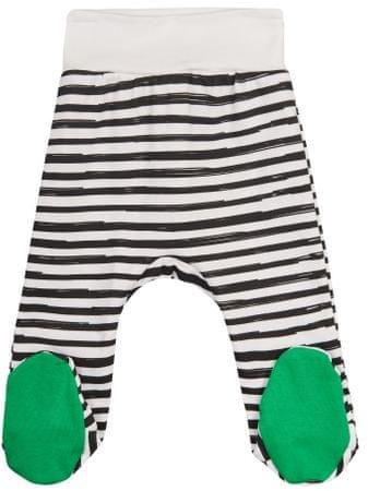 Garnamama otroške hlače Christmas, 56, belo-črna