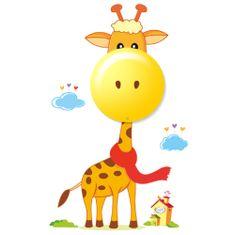 """Milagro Detské nástenné nočné LED svietidlo 114 """"Žirafa"""""""