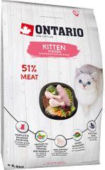 Ontario karma dla kotów Kurczak 6,5 kg
