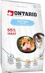 Ontario mačja hrana Kitten Salmon 2kg