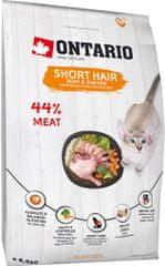 Ontario karma dla kotów z krótką sierścią 6,5 kg