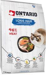 Ontario karma dla kotów z długą sierścią 6,5 kg