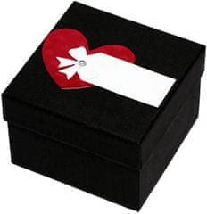 Giftisimo Luxusní dárková krabička s červeným srdíčkem