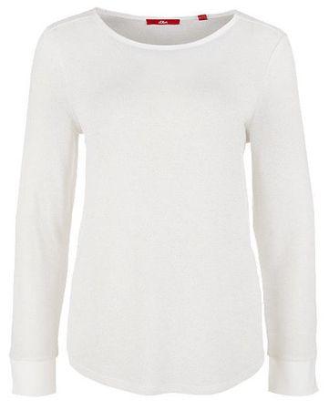 s.Oliver női póló 34 krémszínű