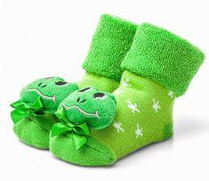 Attractive detské ponožky so žabkou