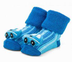 Attractive chlapčenské ponožky s autom