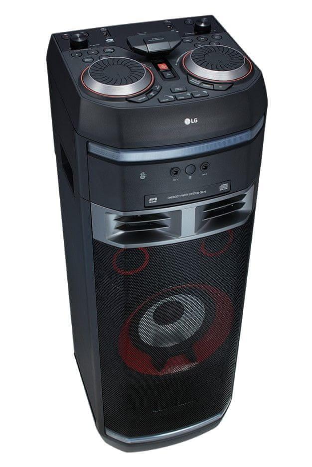 LG OK75 hordozható hangszóró USB csatlakozóval