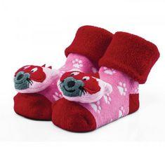 Attractive dievčenské ponožky s líškou