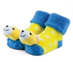 Attractive chlapčenské ponožky s medvedíkom